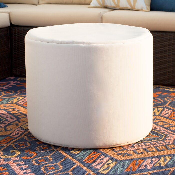 Zipcode Design Ayala Outdoor Pouf Ottoman Reviews Wayfairca New Outdoor Pouf Footstool