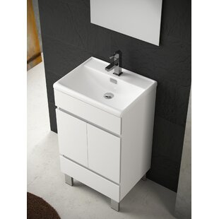 Inch Deep Vanity Wayfair - Bathroom vanity 20 inches wide