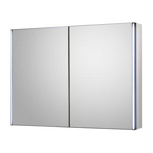 bathroom led mirror cabinet wayfair co uk rh wayfair co uk