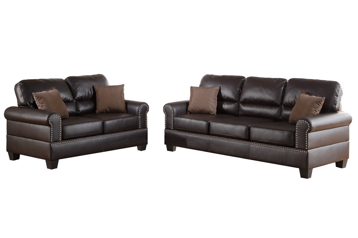 Charlton Home Boyster 2 Piece Living Room Set & Reviews | Wayfair