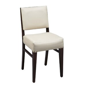Otwell Beechwood Solid Back Fully Seat Upholstered Dining Chair by Brayden Studio