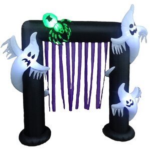 halloween inflatable archway indooroutdoor decoration - Outdoor Inflatable Halloween Decorations
