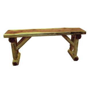 Gorham Cedar Wood Bench