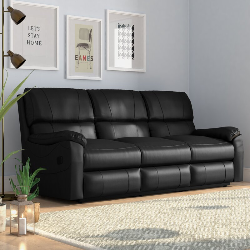 Mercury Row Waldon 3 Seater Reclining Sofa Amp Reviews