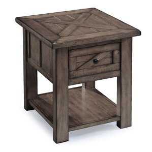 Waycross End Table by August Grove