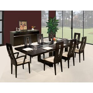 Novo 9 Piece Dining Set by Sharelle Furnishings