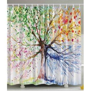 Shower Curtain With Trees Wayfair