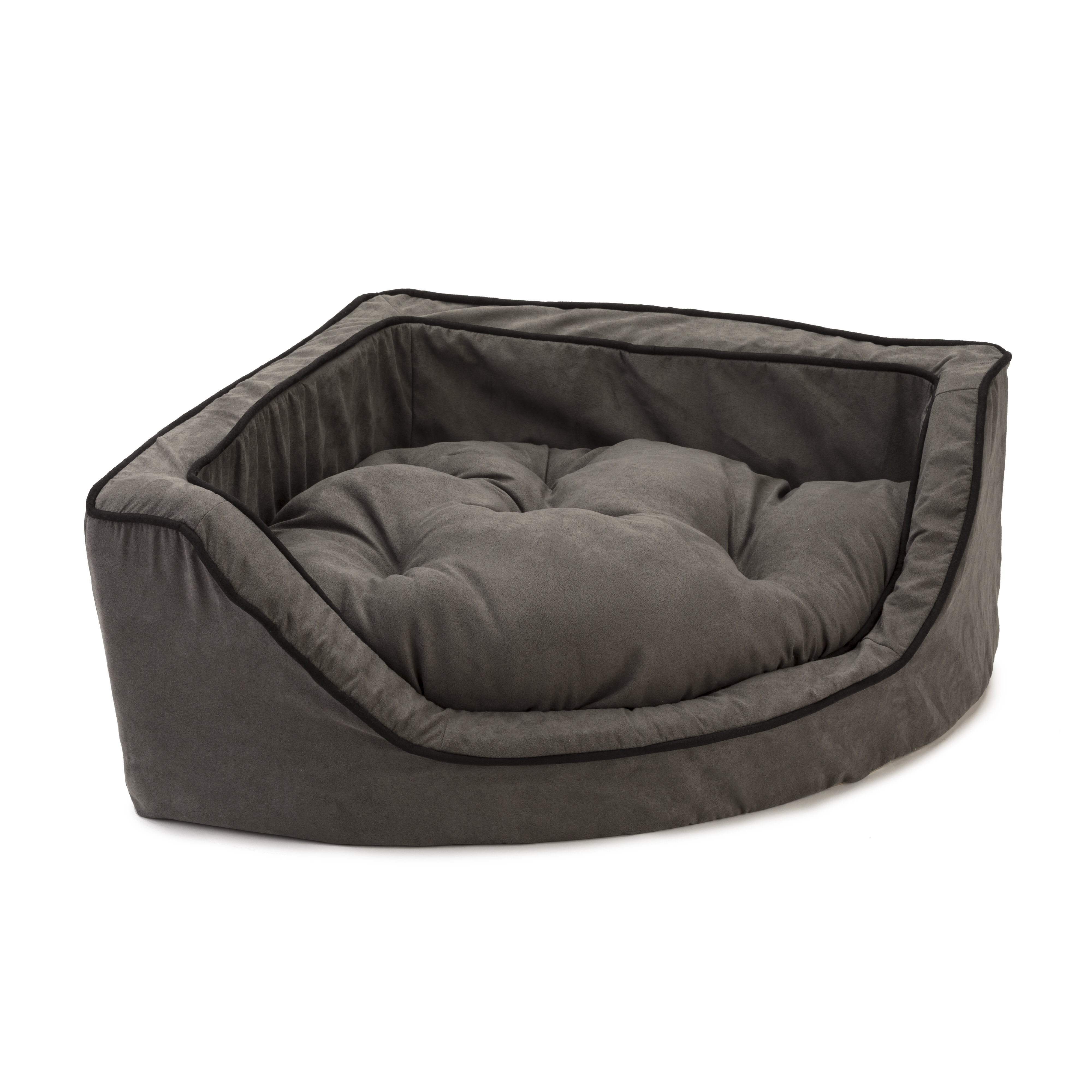 orthopedic katie blk ortho katiepuff products dog puff luxury black bed beds animals matter