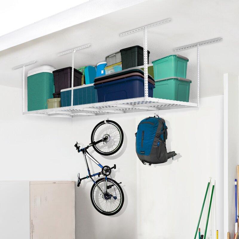 Heavy Duty Overhead Garage Ceiling Storage Rack