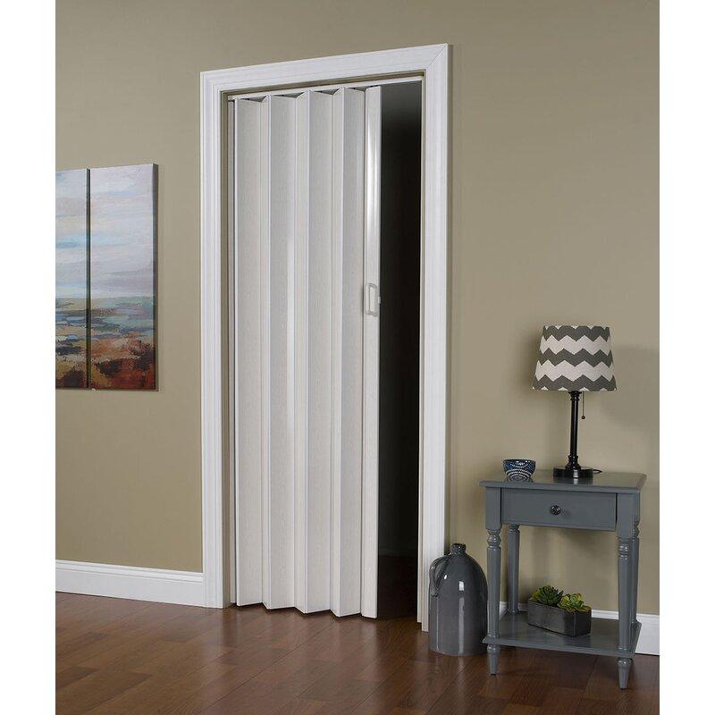 LTL Accordion Doors Homestyle Vinyl Hollow Room Divider Accordion - Doorway floor divider