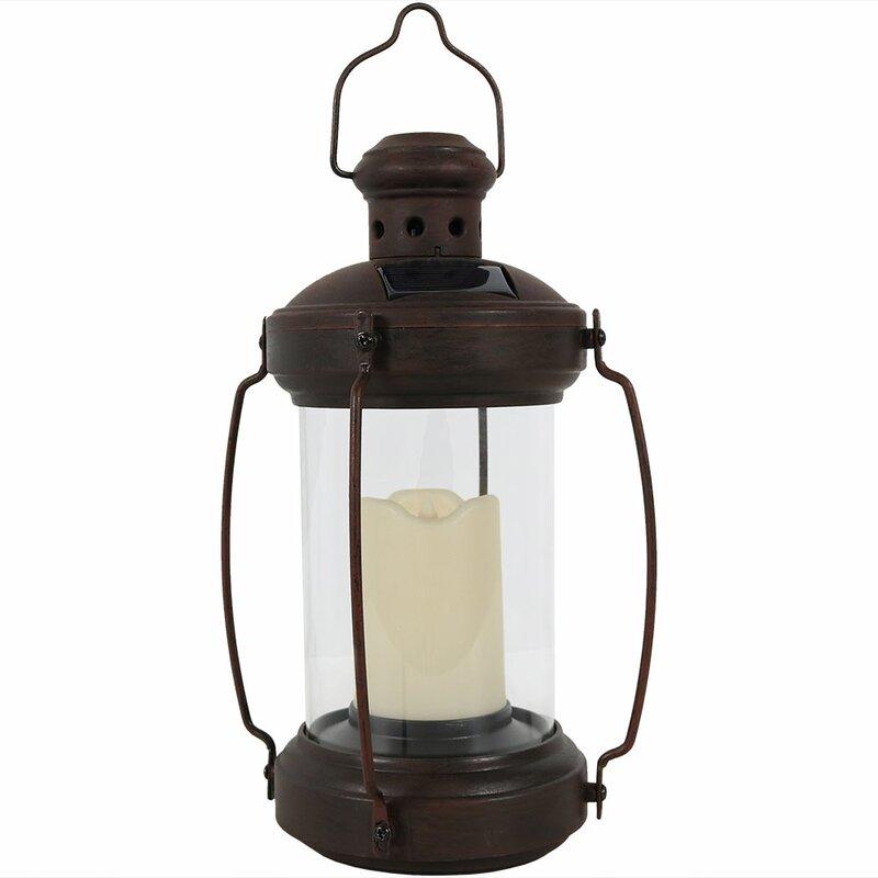 Stoudt Antique Solar Outdoor Hanging Lantern