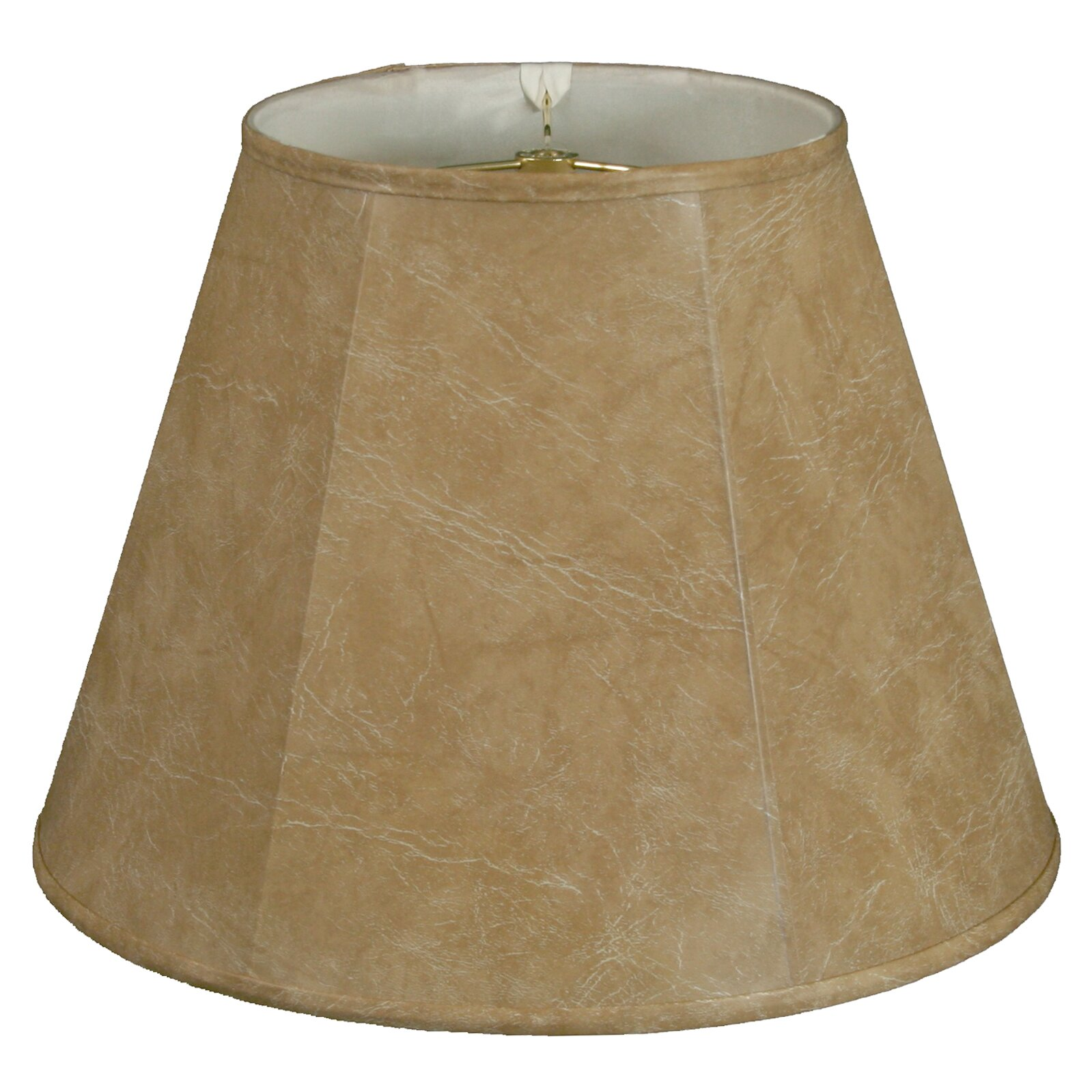 royaldesigns timeless 14 faux leather empire lamp shade. Black Bedroom Furniture Sets. Home Design Ideas