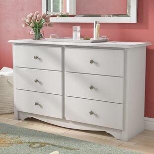 Sybil Condo 6 Drawer Double Childrenu0027s Dresser