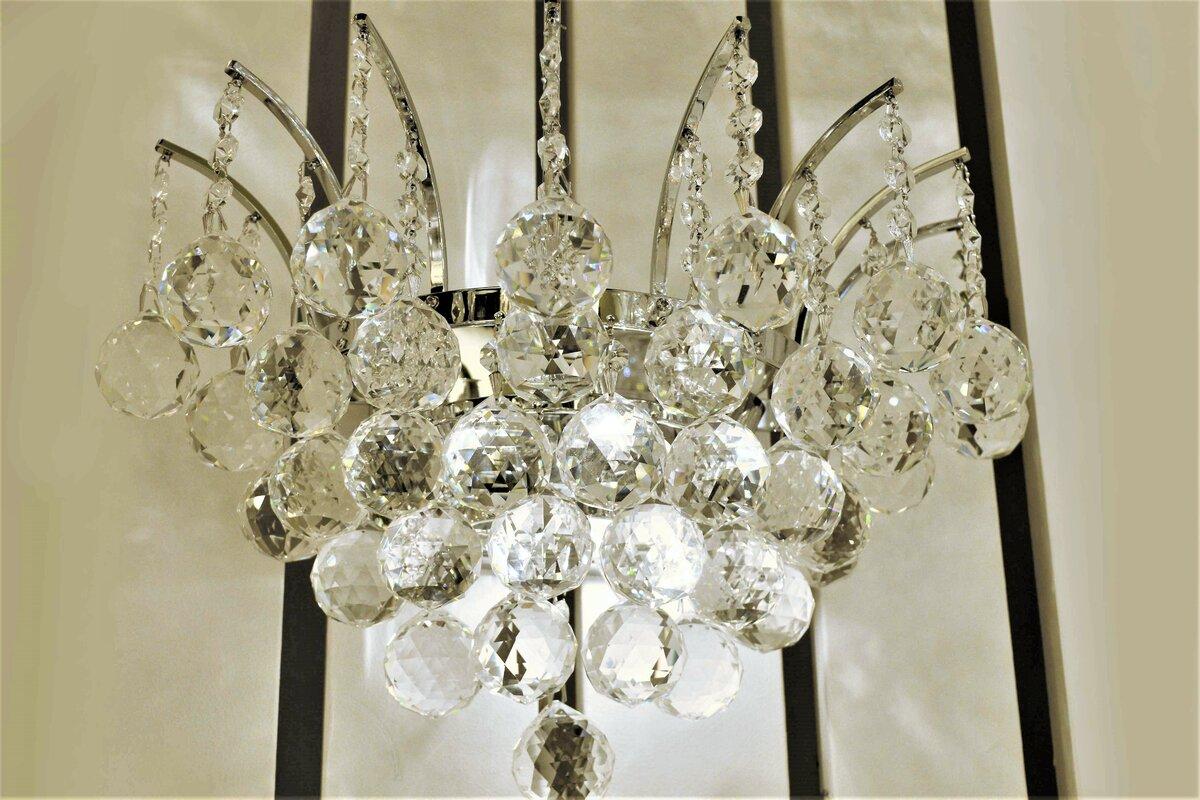 House of hampton carson 3 light crystal wall sconce reviews wayfair carson 3 light crystal wall sconce aloadofball Gallery