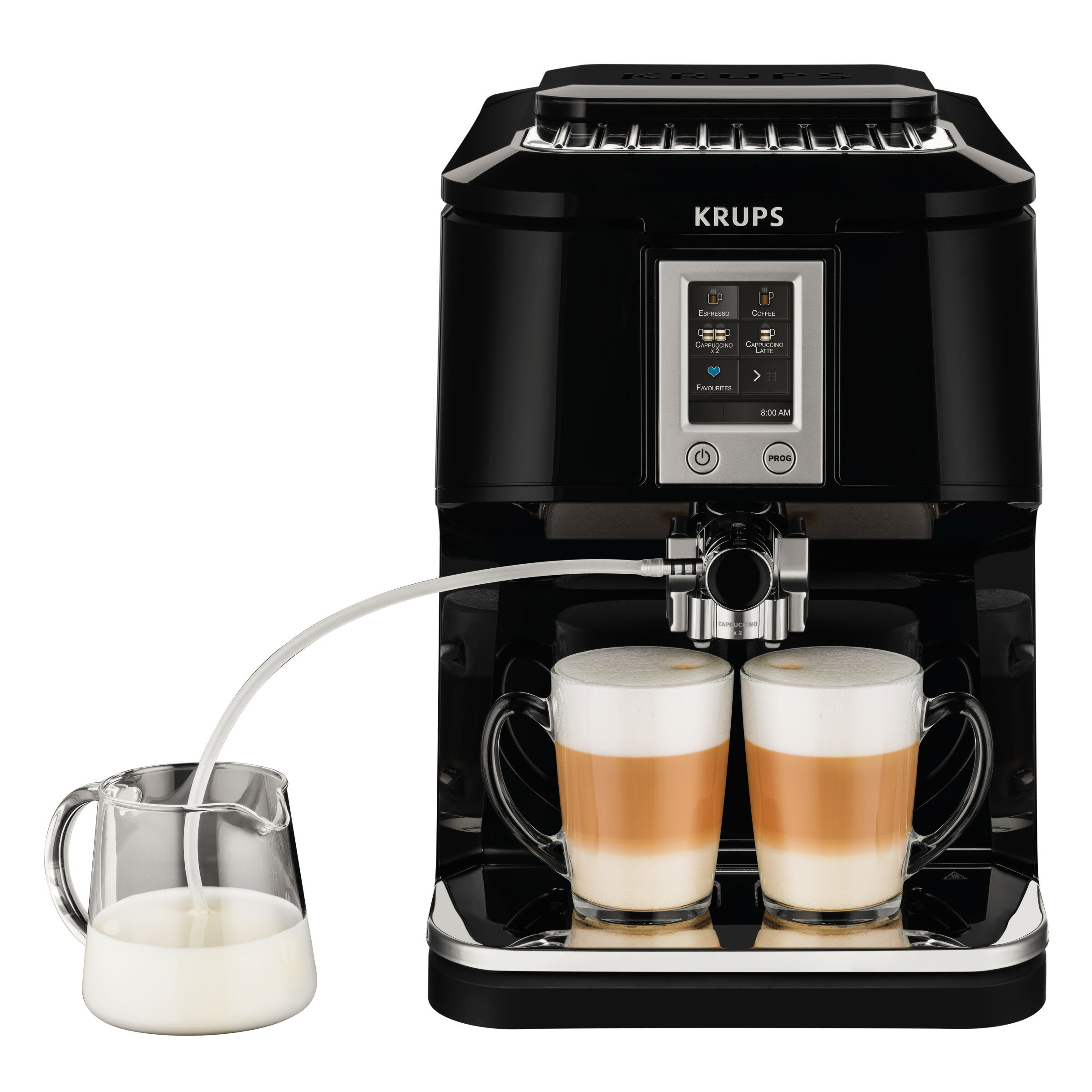 Krups 2 In 1 Touch Automatic Espresso Machine