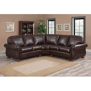 Leather Sectionals You\'ll Love | Wayfair