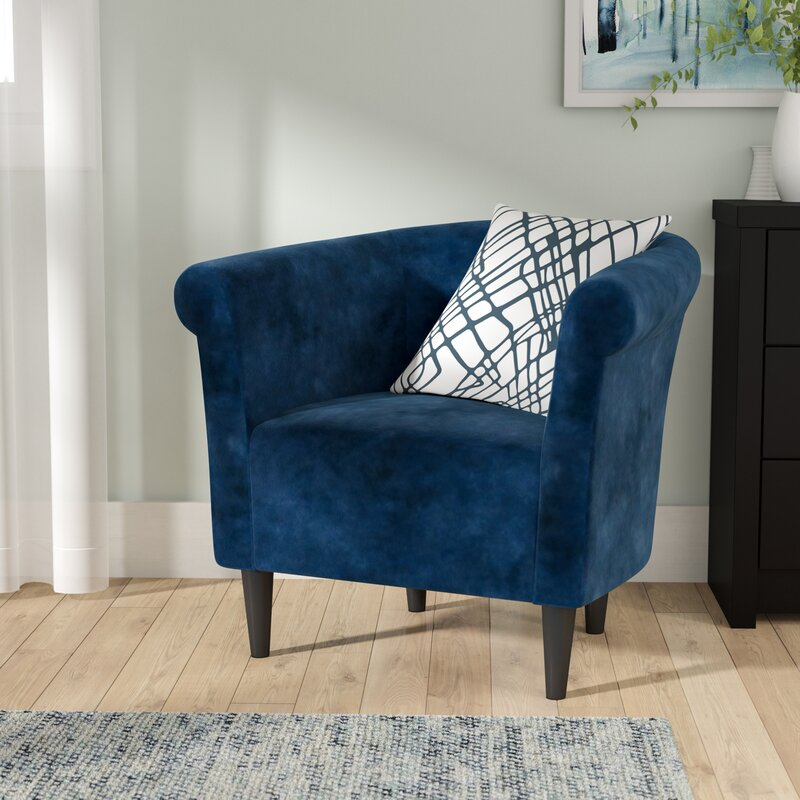 Zipcode Design Liam Barrel Chair & Reviews | Wayfair