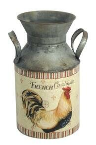 Rooster Decorative Jar