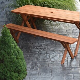 Rowland Coman Solid Wood Picnic Table