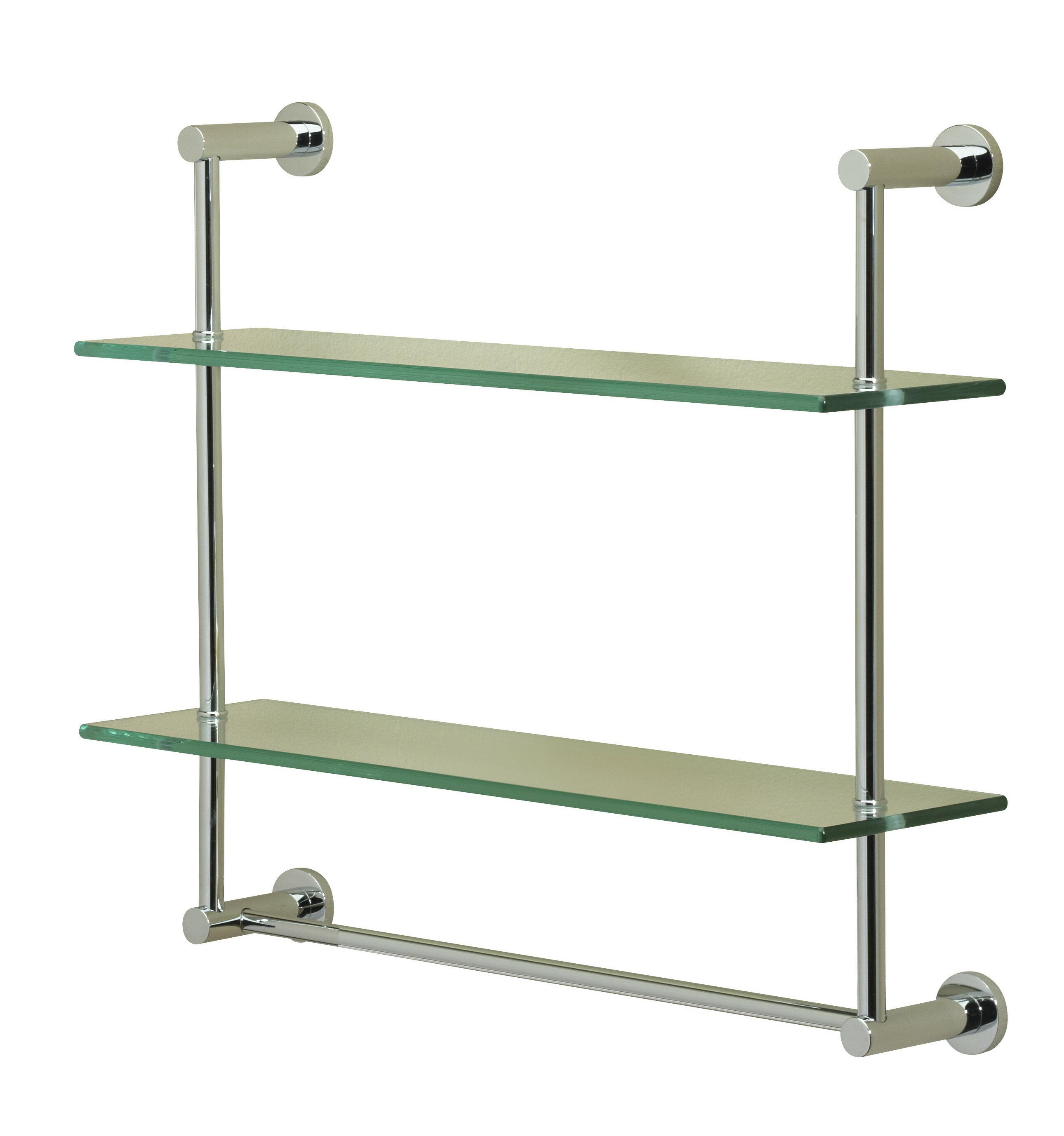 Valsan Essentials 2 Tier Wall Shelf | Wayfair