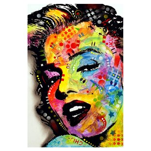 Marilyn Monroe Graphic Art On Canvas