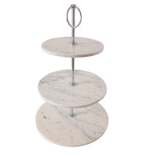 Marble 3 Tier Cake Stand  sc 1 st  Wayfair & 3 Tier Plate Stand   Wayfair