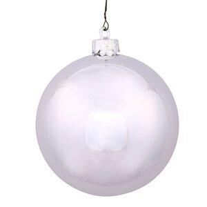 Shiny Ball UV Drilled Ornament (Set of 4)