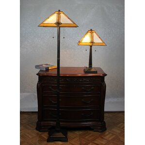 Jace 2 Piece Table And Floor Lamp Set