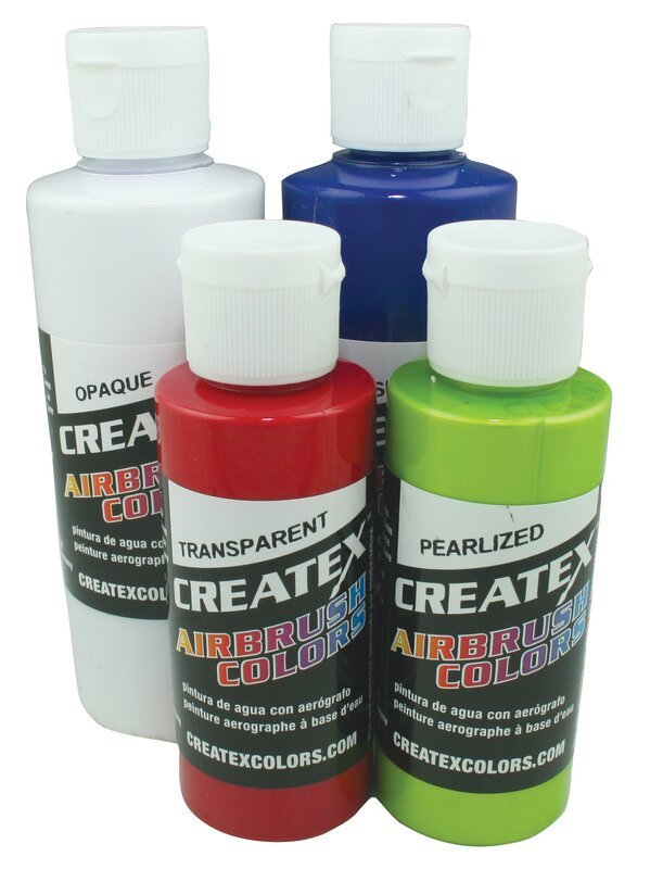 Airbrush Pearlescent Paints