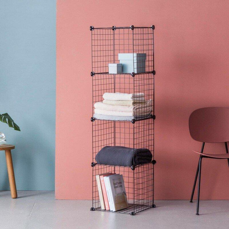 Home & Haus Modular 4 Shelf Shelving Unit & Reviews | Wayfair.co.uk