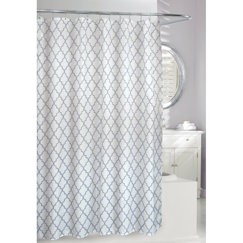 Frette Faux Linen Shower Curtain