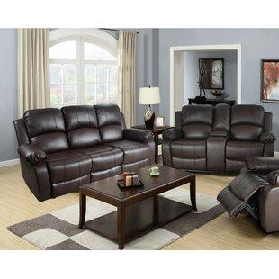 reclining living room sets you ll love wayfair rh wayfair com power recliners sofa set leather recliners sofa sets