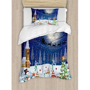 Moon And Ocean Duvet Cover Set Bed Spread 3d Print Bedlinen Soft Blue Bedding Set Twin Full Queen Size Comfortet Bedding Sets Big Clearance Sale Solar