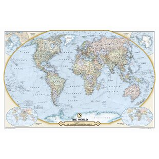 Large World Map Wall | Wayfair on