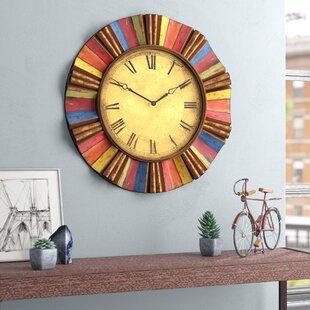 "Oversized Shaffer 30.5"" Wall Clock"