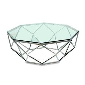 Geometric Coffee Table by Sarreid Ltd