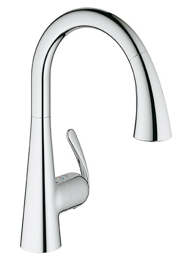 Grohe Ladylux Single Hole Kitchen Faucet & Reviews | Wayfair