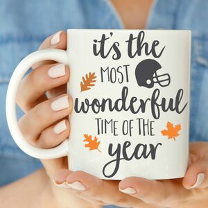 Thanksgiving It's the Most Wonderful Time of the Year 11 oz. Mug