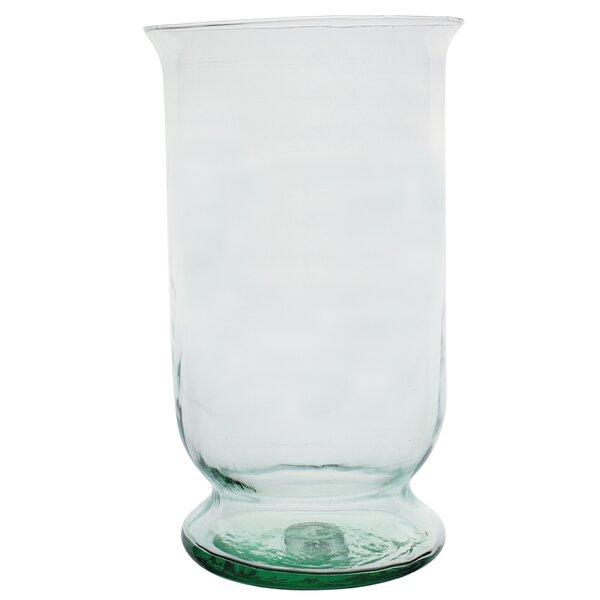 Large Clear Hurricane Vase Wayfair