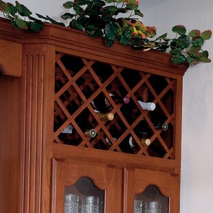 Ahumada Maple 14 Bottle Floor Wine Rack