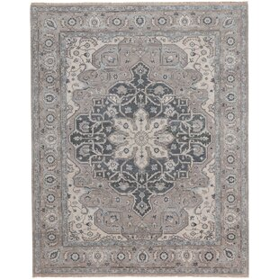Great Price Biltmore Hand-Knotted Beige/Gray Area Rug By Capel Rugs