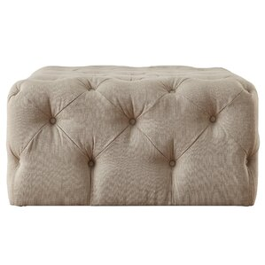 Bourges Rectangular Tufted Cocktail Ottoman by Lark Manor