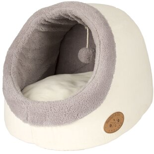 Banbury and Co Luxury Cosy Cat Bed in White by Pet Brands