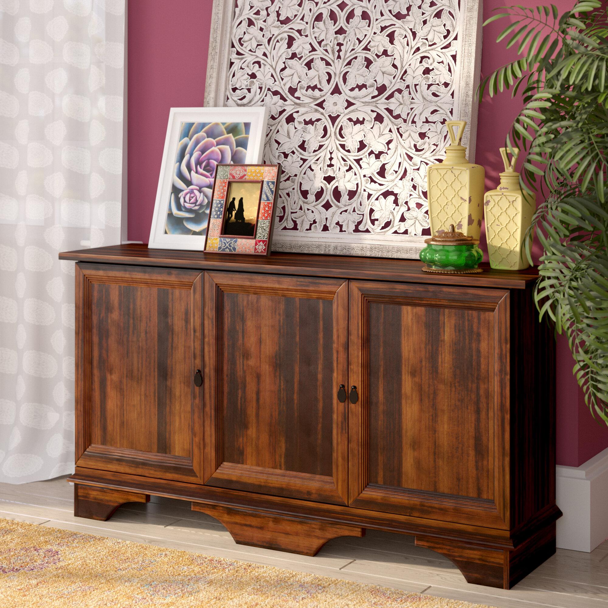 World Menagerie Coyne 3 Door Storage Accent Cabinet U0026 Reviews | Wayfair