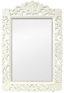 August Grove Hogarth Filigree Mirror Wayfair Co Uk