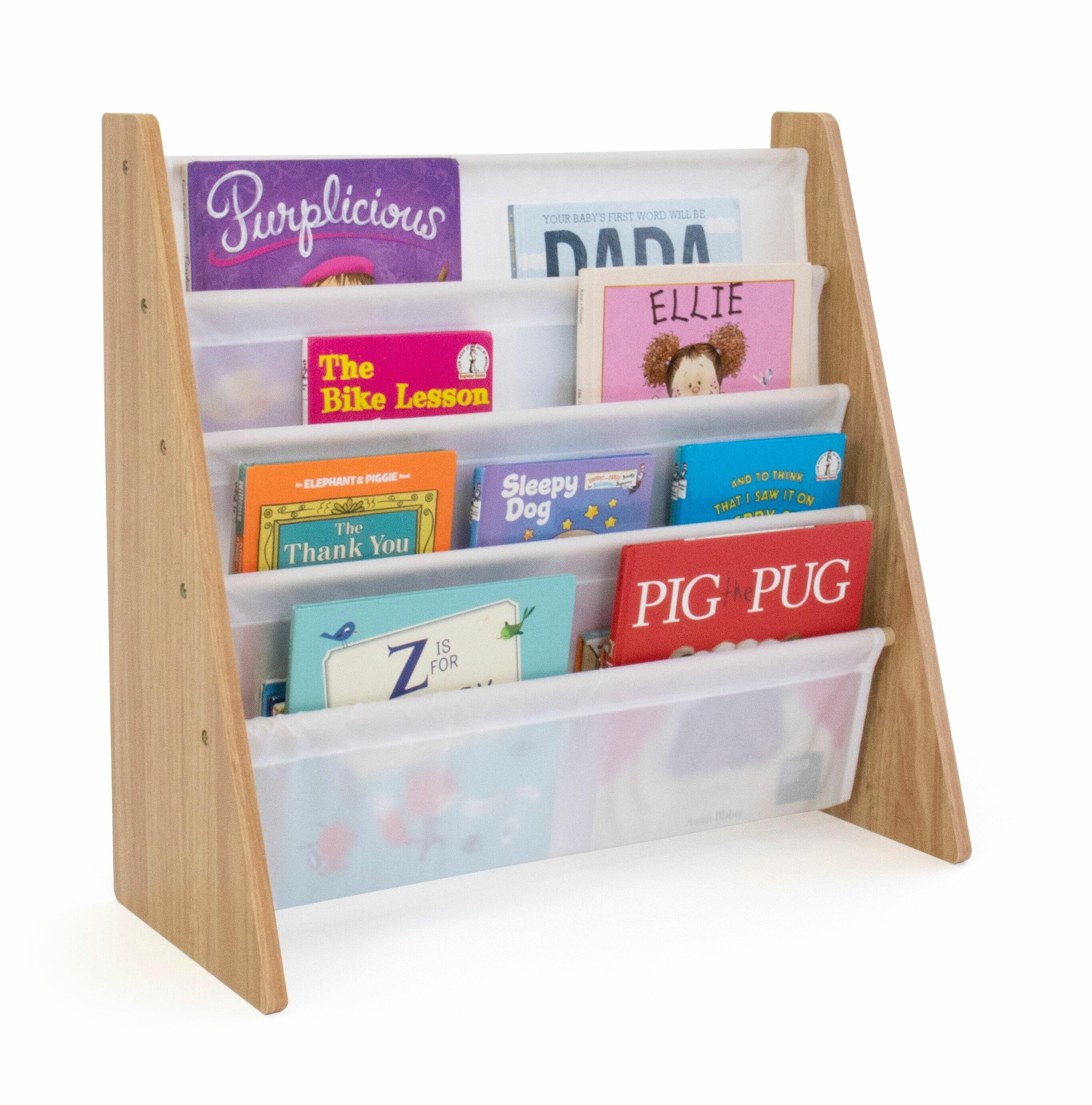 Zoomie Kids Hoeft 24 Book Display U0026 Reviews | Wayfair