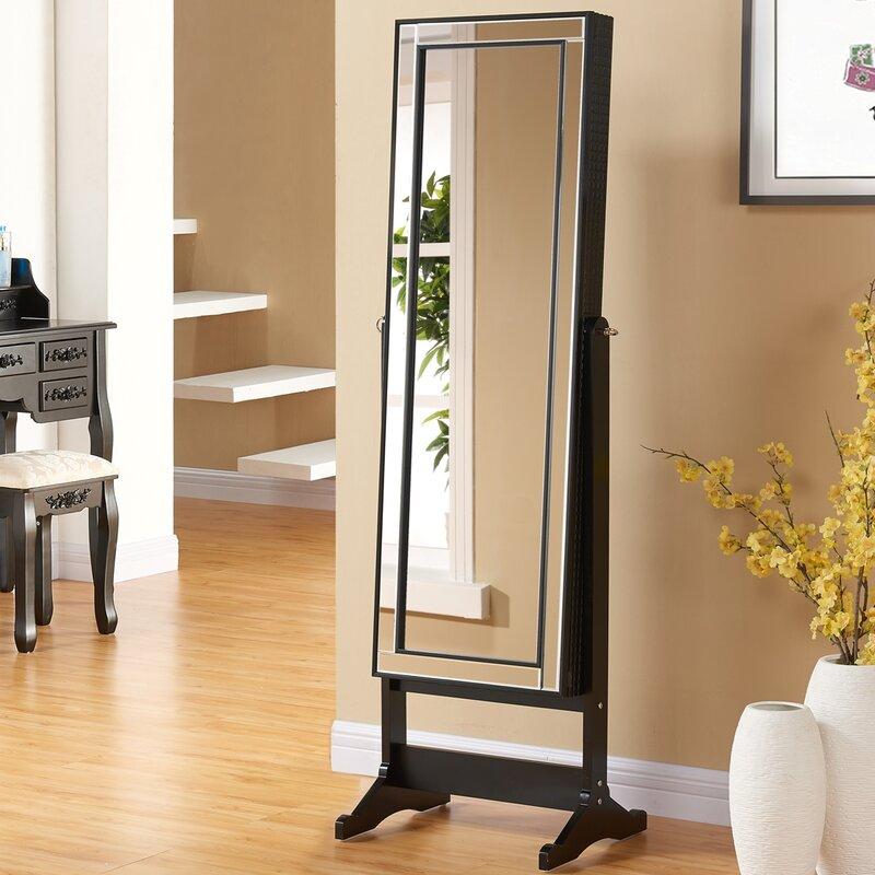 prestington schmuckschrank abby mit spiegel. Black Bedroom Furniture Sets. Home Design Ideas