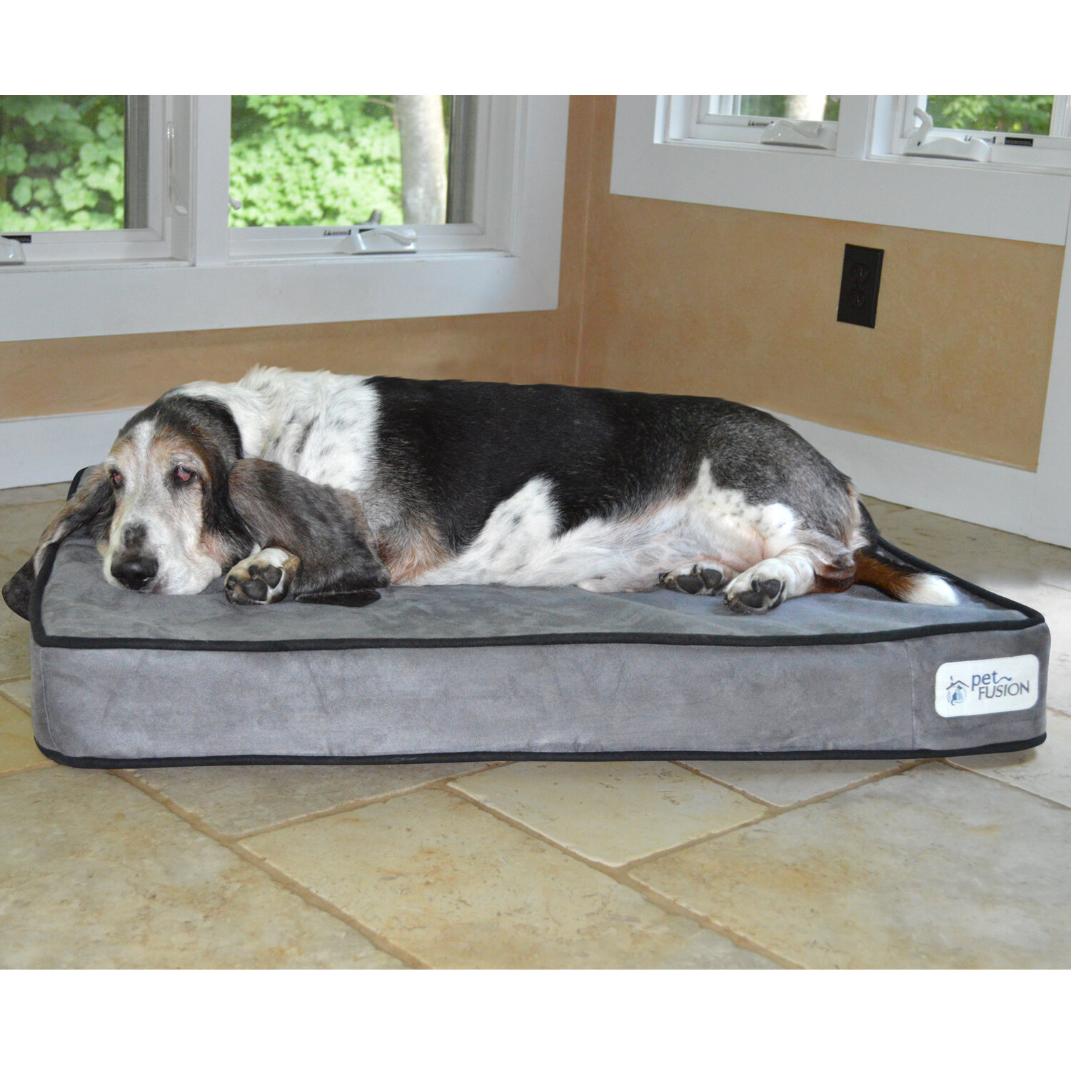 deluxe products foam shop main ultra style by top dog furhaven beds bed plush pet memory