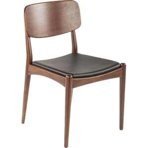 Namsos Genuine Leather Upholstered Dining Chair by dCOR design