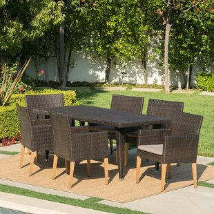 Modern Resin Wicker Outdoor Dining Sets AllModern